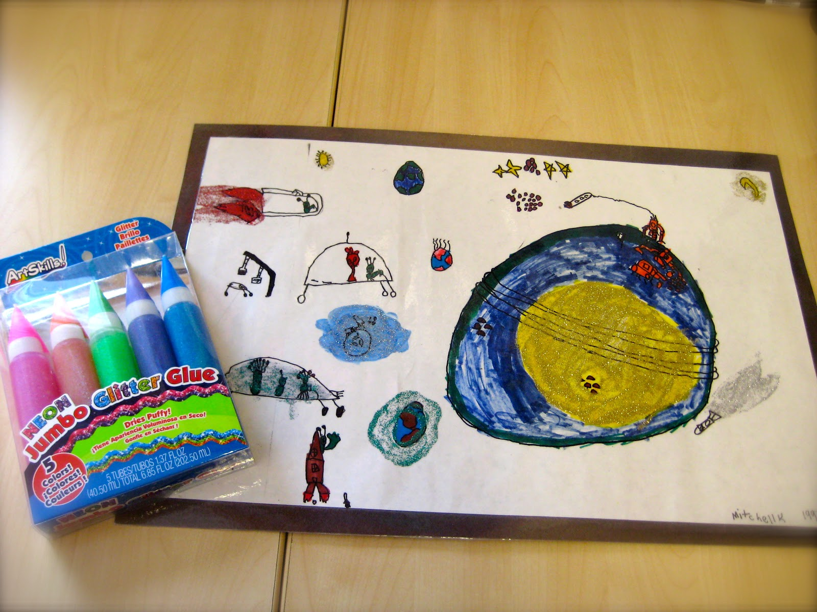 Ms Liebel S Classroom Space Unit Lapbook