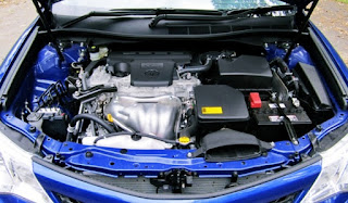 2016 Toyota Camry Atara S Engine
