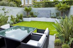 Gambar denah model rumah sederhana, warna cat teras taman DLL