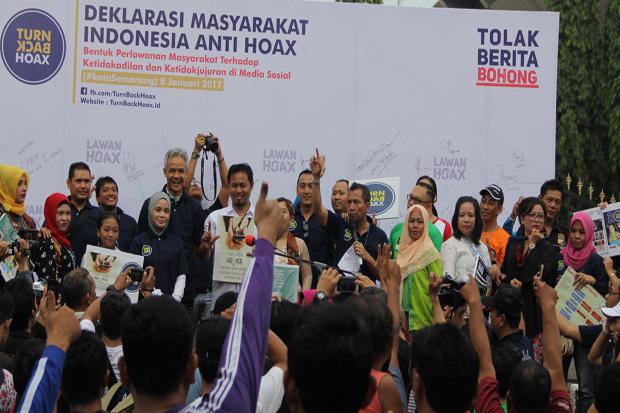 Deklarasi Masyarakat Indonesia Anti Hoax di Semarang