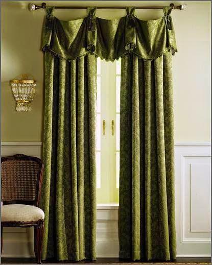 المجموعه الثالثه من احدث وارقى تصميمات الستائر لجميع الاذواق Curtains 2014