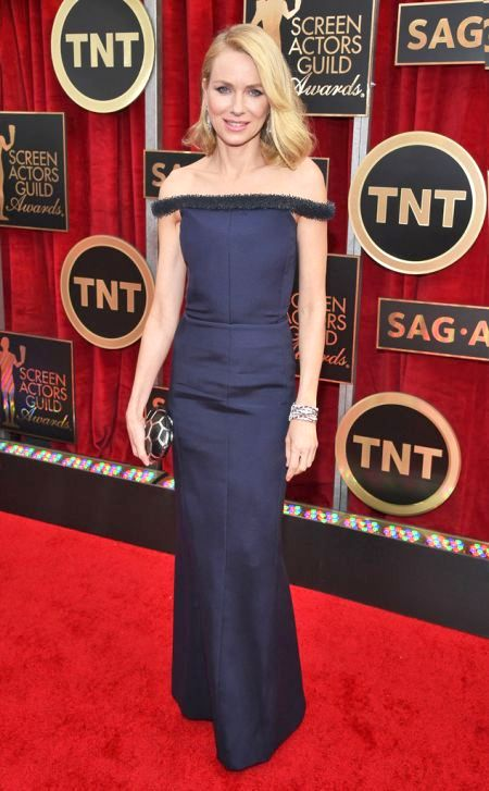 Naomi Watts in Balenciaga at the SAG Awards 2015