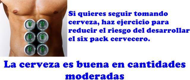 ¿Cómo tener un six pack adecuado y eliminar la barriga cervecera?