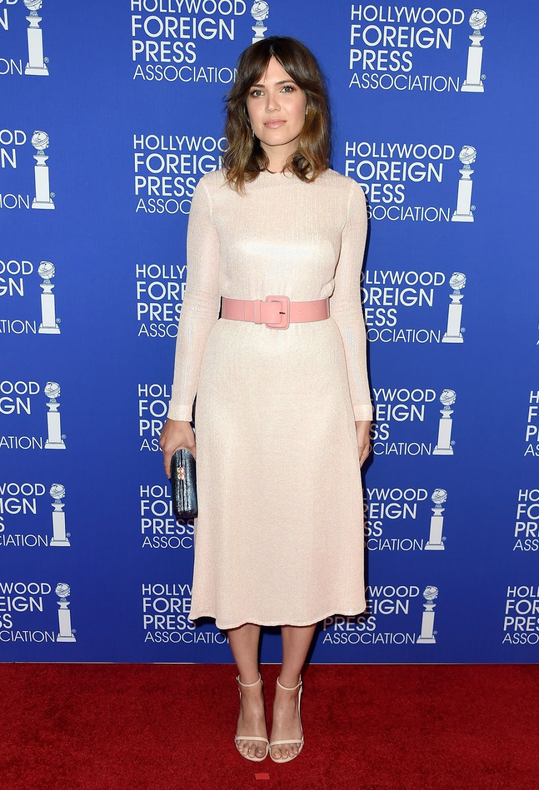 Mandy Moore At Hollywood Foreign Press Association S Grants Banquet In Beverly Hills