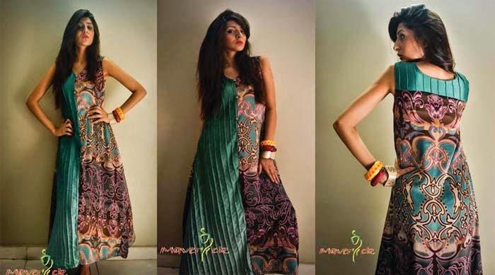 0d3d4bb22f1a Tags: Stylish Long Shirts, Eid Wear Long Shirts, Party Wear Long Shirts 2014,  Maverick Eid Collection 2014, Summer Wear Dresses, Eid Collection By  Maverick ...