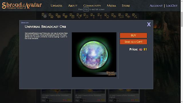 Universal Broadcast Orb