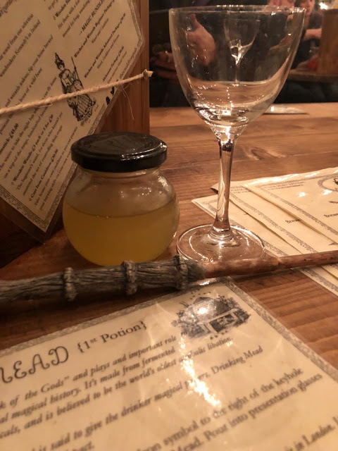 mead and wand at The Cauldron cocktail bar, London