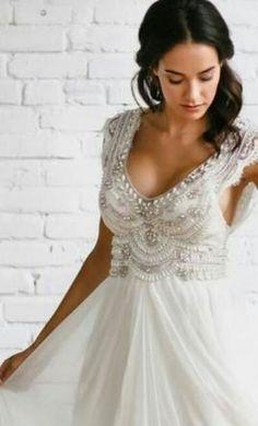 Anna Campbell Wedding Dress Used