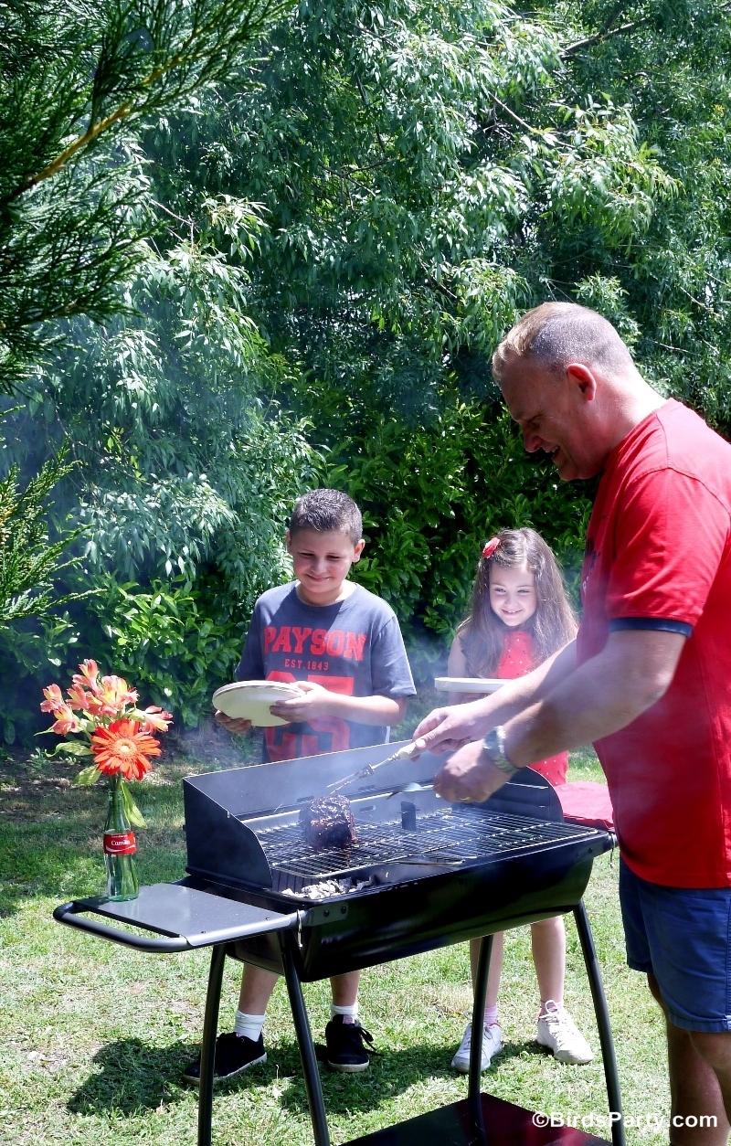 BBQ Cookout Summer Party Ideas - BirdsParty.com