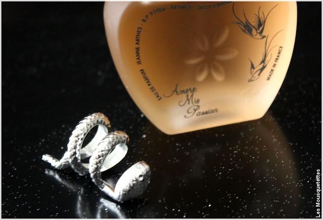 Eau de Parfum, Jeanne Arthes - Amor Mio Passion - Blog beauté