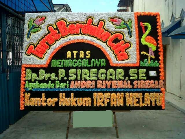 toko papan bunga Palembang 2