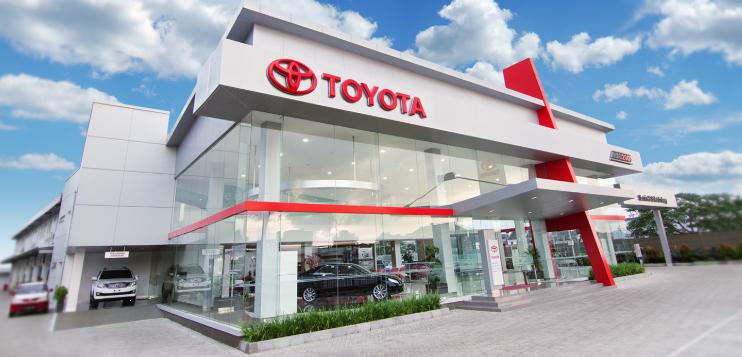 dealer Toyota terpercaya