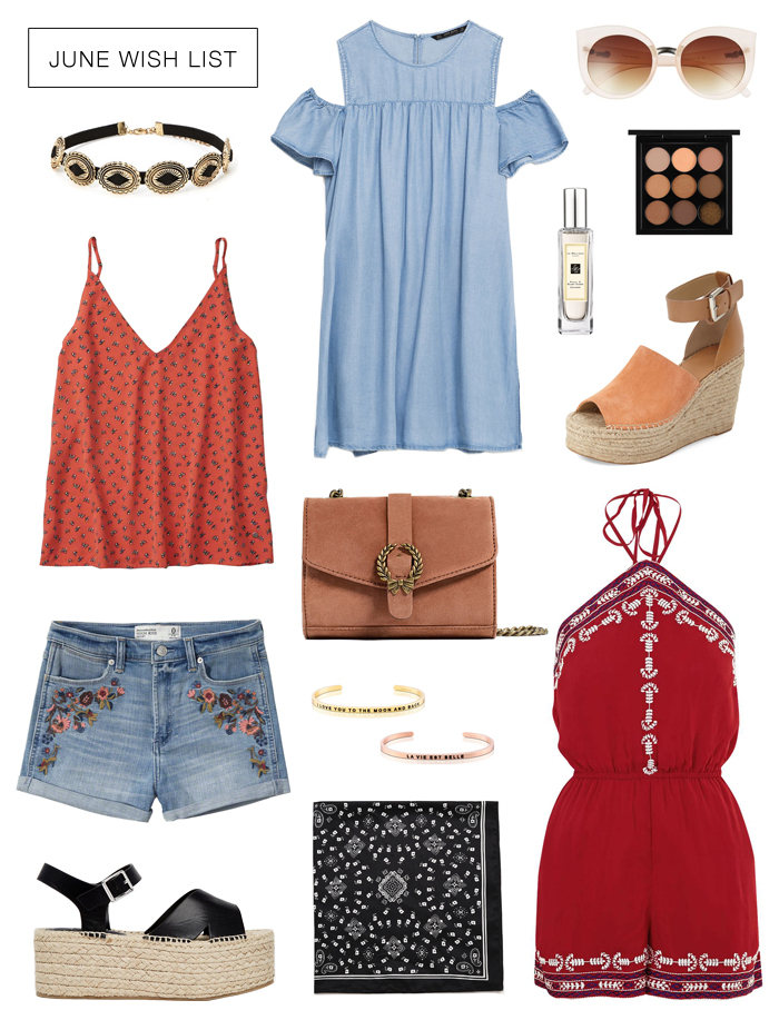 Summer Trends & Wish List