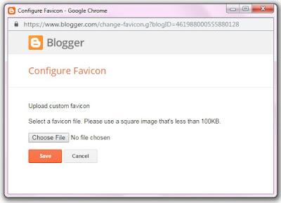 Configure Favicon