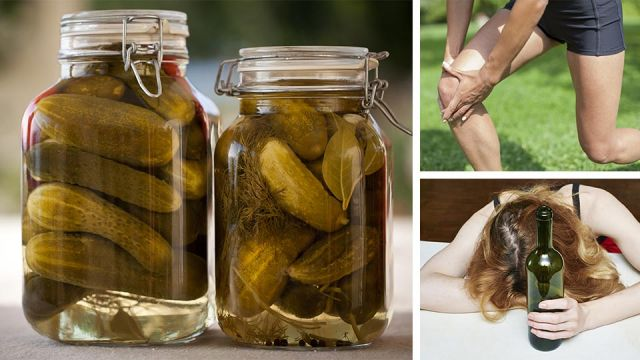 4 Benefits of Drinking Pickle Juice