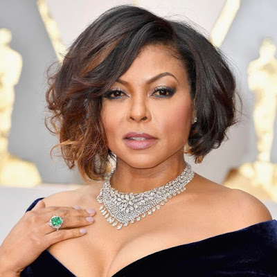 Taraji P. Henson and Her Necklace