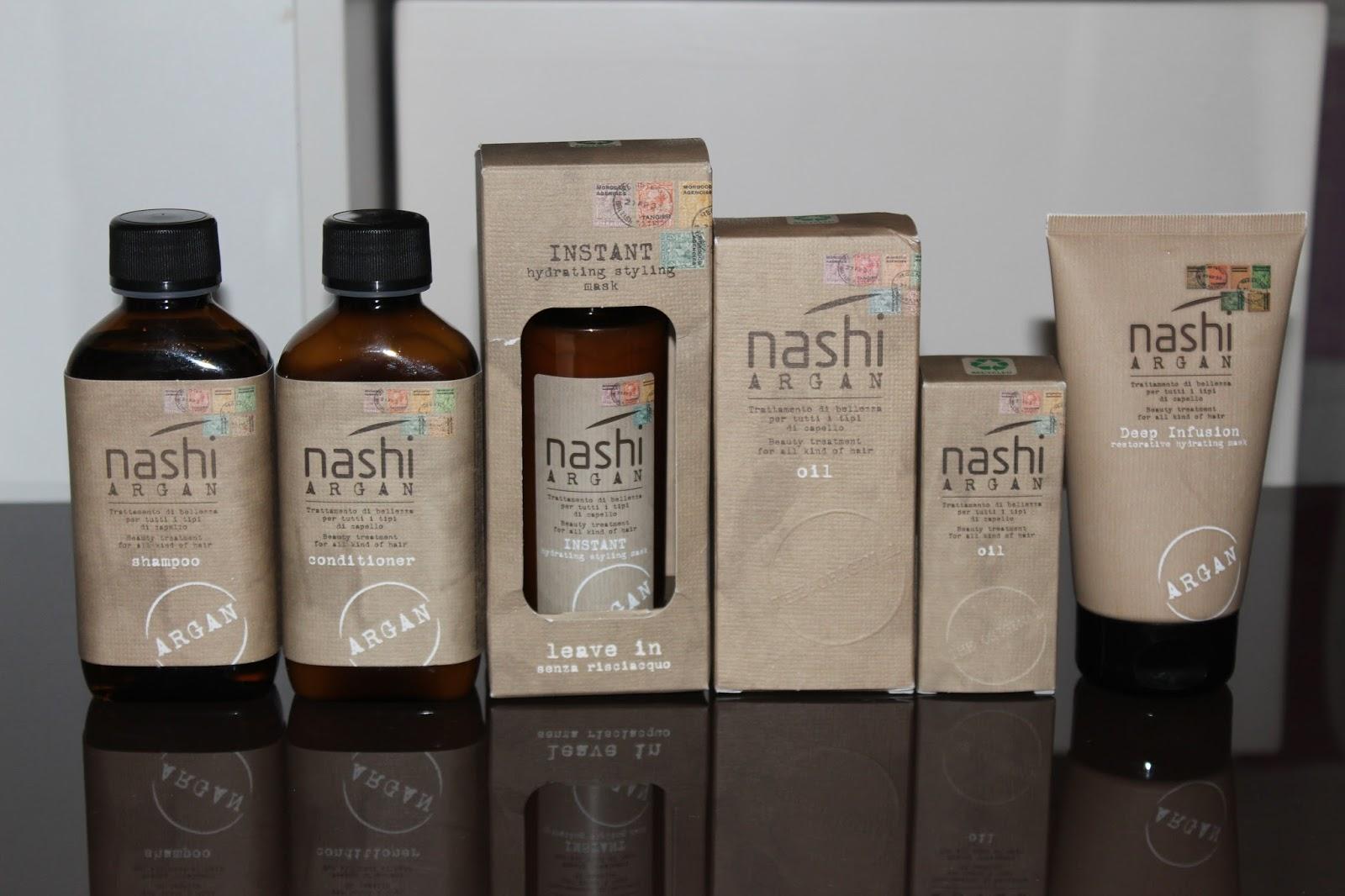 Nashi Argan grupna recenzija proizvoda za kosu