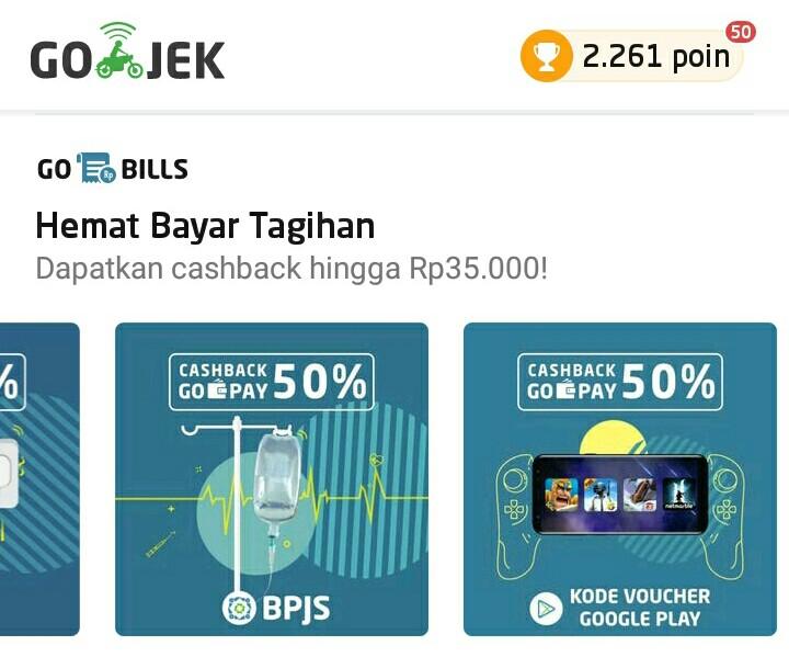 Celoteh Kiky Bayar Voucher Google Play Pakai Gopay Dapat Cashback