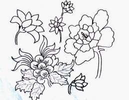 Gambar Sketsa Bunga Batik 40 Contoh Gambar Ragam Hias Cute766