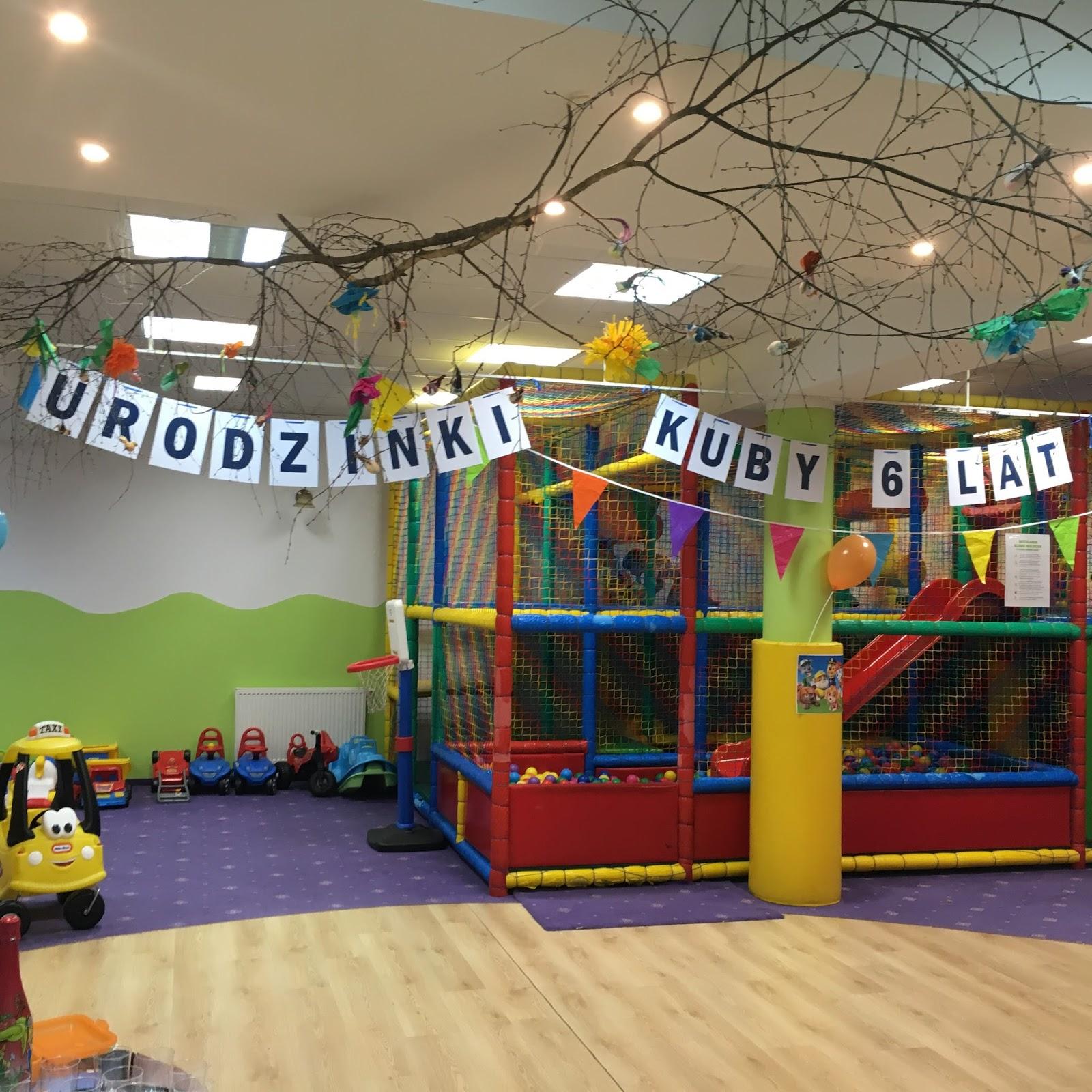 urodziny w sali zabaw