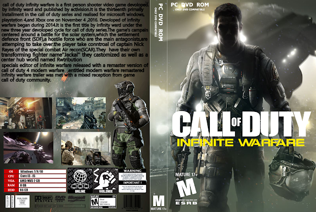 Capa Call Of Duty Infinite Warfare PC