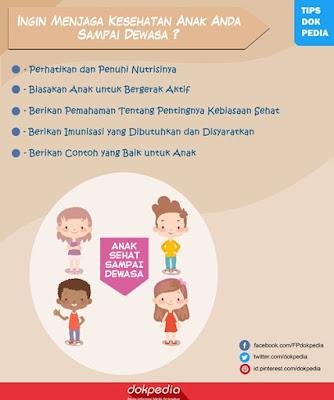 tips menjaga kesehatan anak sampai dewasa