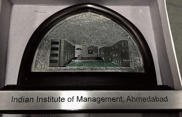 Criminal Psychologist Delivers lecture in IIM Ahmedabad