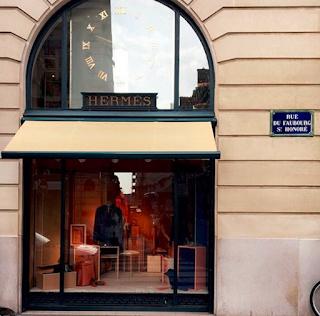 Paris : Boutique Hermès