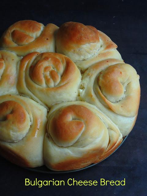 Mesenitza,Bulgarian cheese bread, Tutmanik