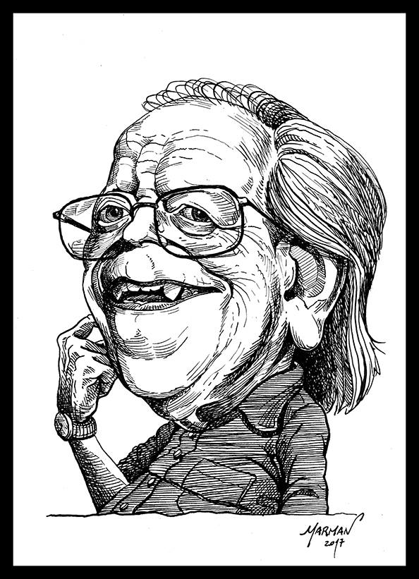 Caricatura de Washington Benavides