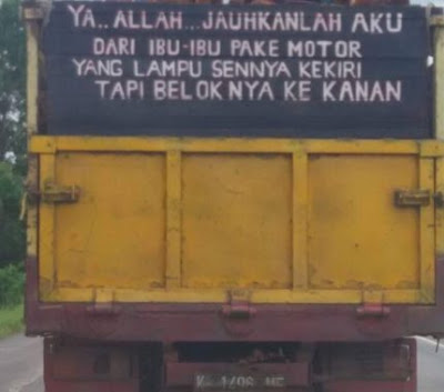 Kata Mutiara Versi Bak truk