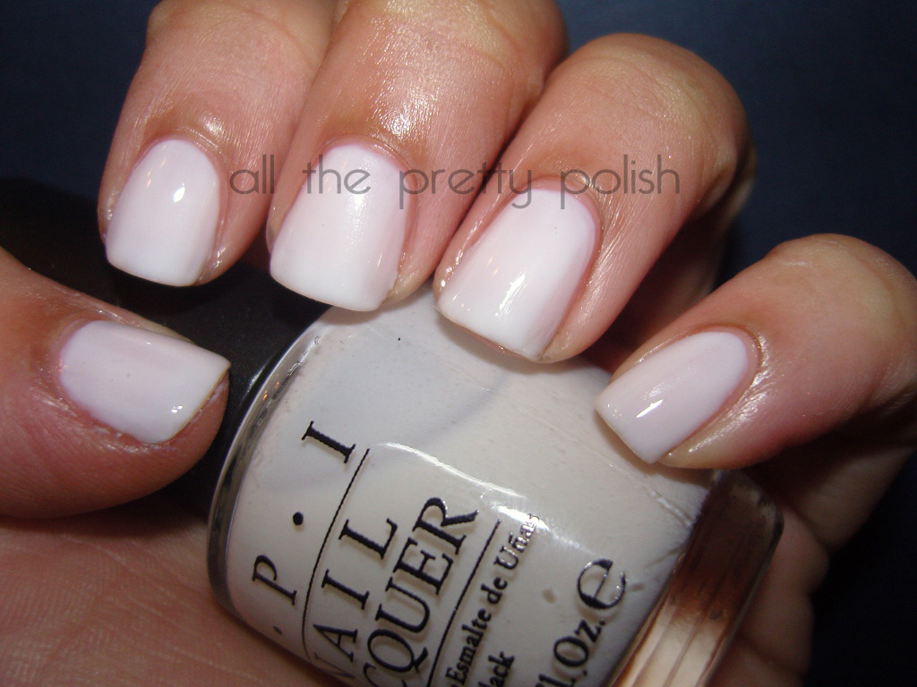 OPI Funny Bunny. The perfect opaque white polish without ... |Funny Bunny Nails