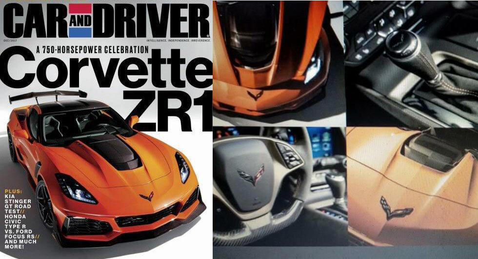 2019 corvette zr1 leaks online  could have 750 hp