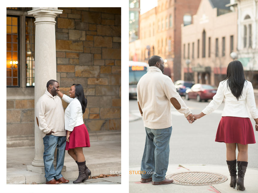 Ann Arbor Downtown Engagement session - Sudeep Studio.com