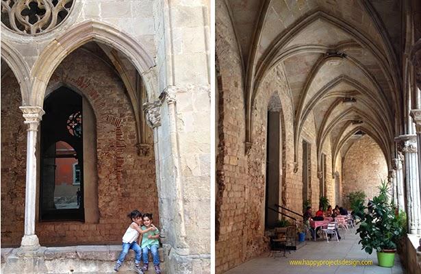Claustro del Convent de Sant Agustí en el Born de Barcelona