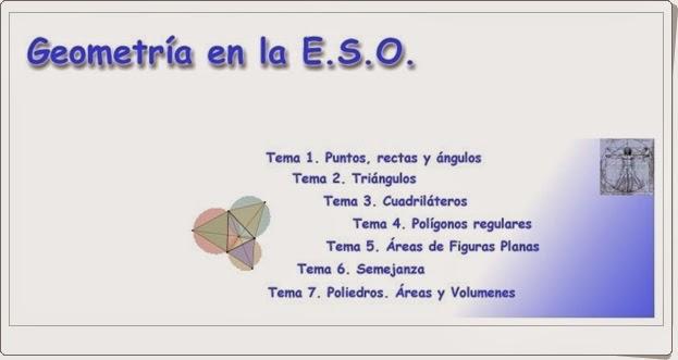 """""""Geometría en la E.S.O."""" (Aplicación interactiva)"""