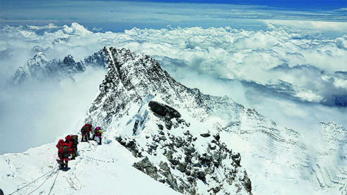 Trishala's account of battle for life at the summit of Mt. Everest