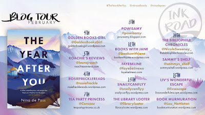 The Year After You by Nina de Pass blog tour banner
