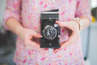 Cámara de fotos vintage
