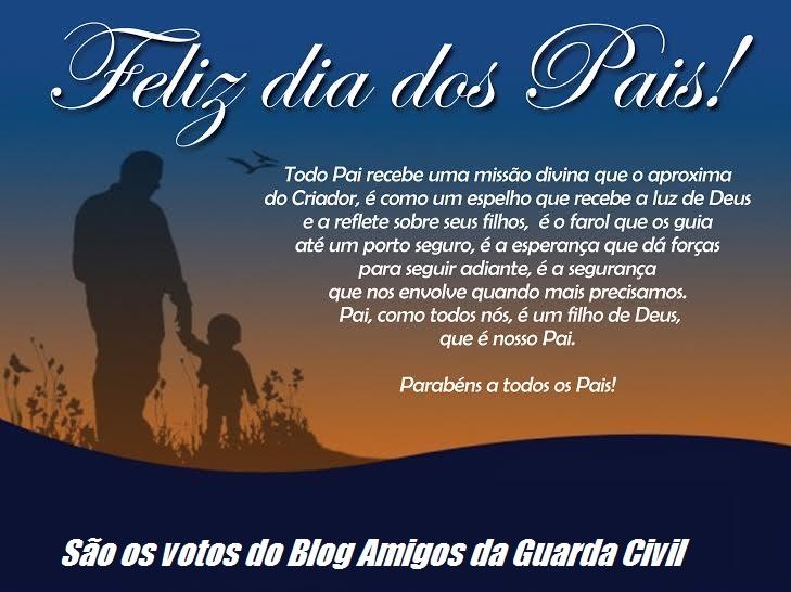 Feliz Dia Pai Policial Amigos Da Guarda Civil