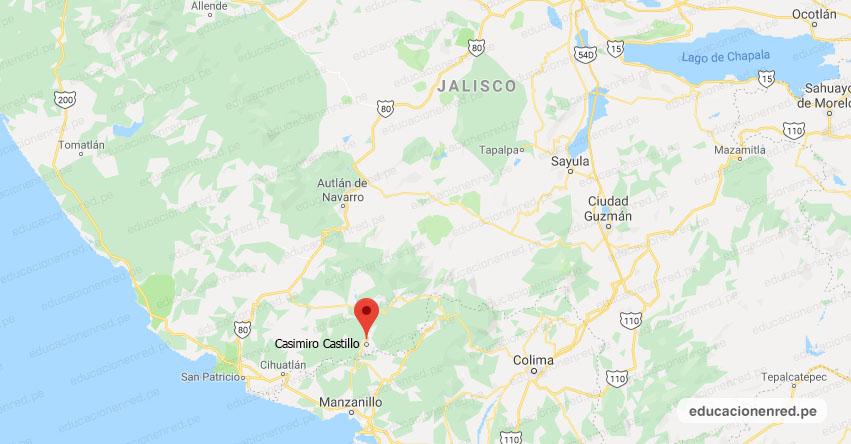 Temblor en México de Magnitud 4.1 (Hoy Domingo 19 Julio 2020) Sismo - Epicentro - Casimiro Castillo - El Chico - Jalisco - JAL. - SSN - www.ssn.unam.mx