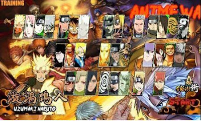 Download Kumpulan Game Naruto Senki v2.0 Apk Full Version Update Terbaru 2017