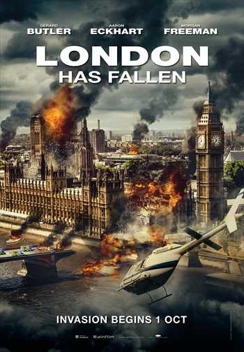 London Has Fallen 2016 Dual Audio Hindi 480p HDRip – 300mb