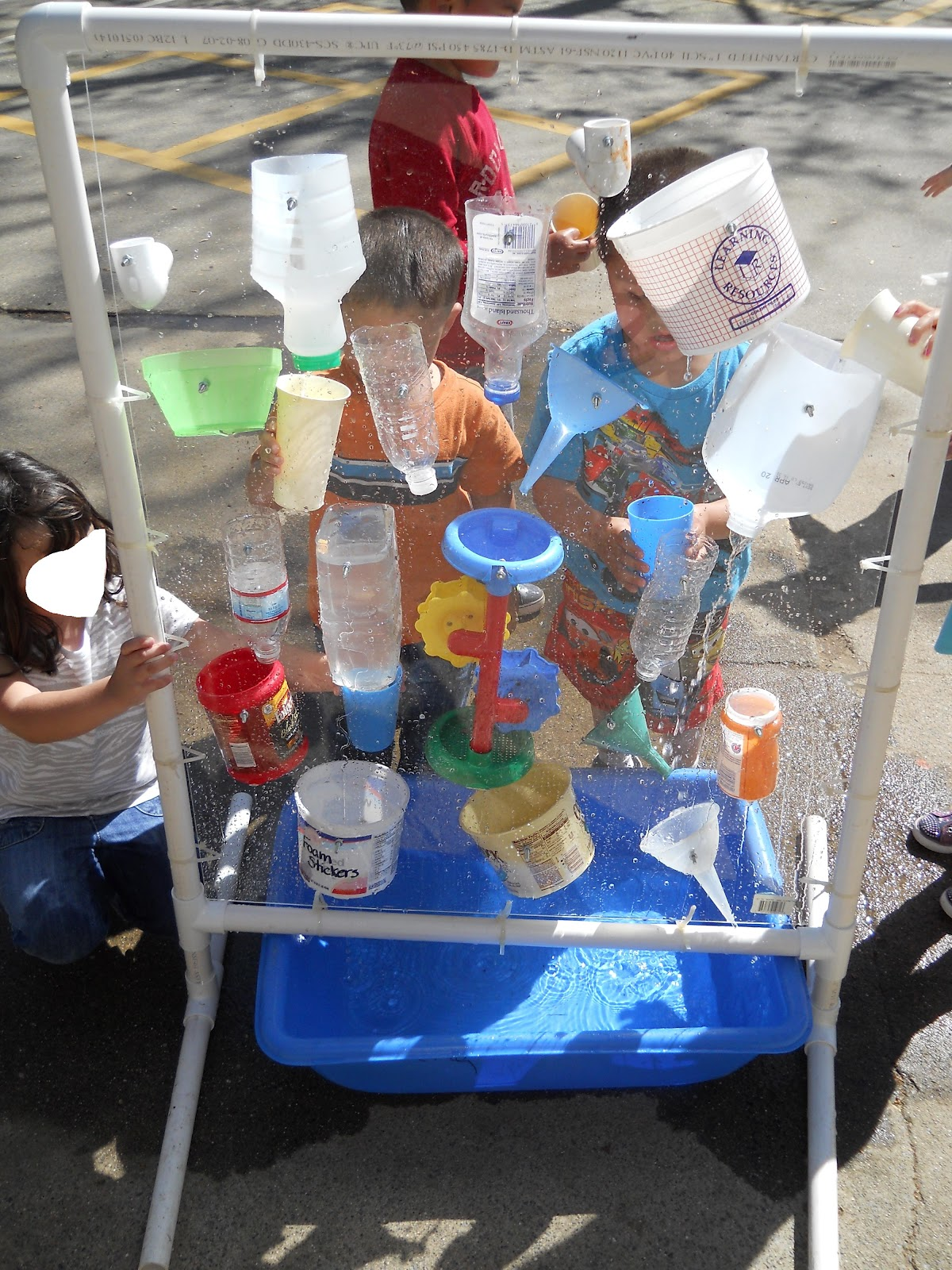 Learning And Teaching With Preschoolers Water Wall