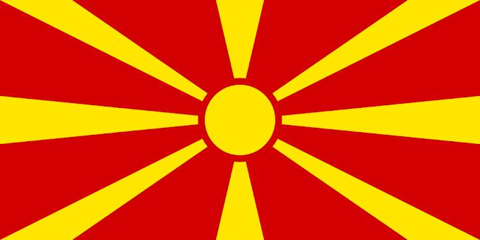 Flag of Macedonia | Macedonian Flag | Macedonian National Flag
