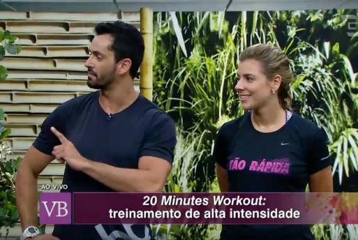 20 Minutes Workout Programa Você Bonita - Blog Vida Saudável