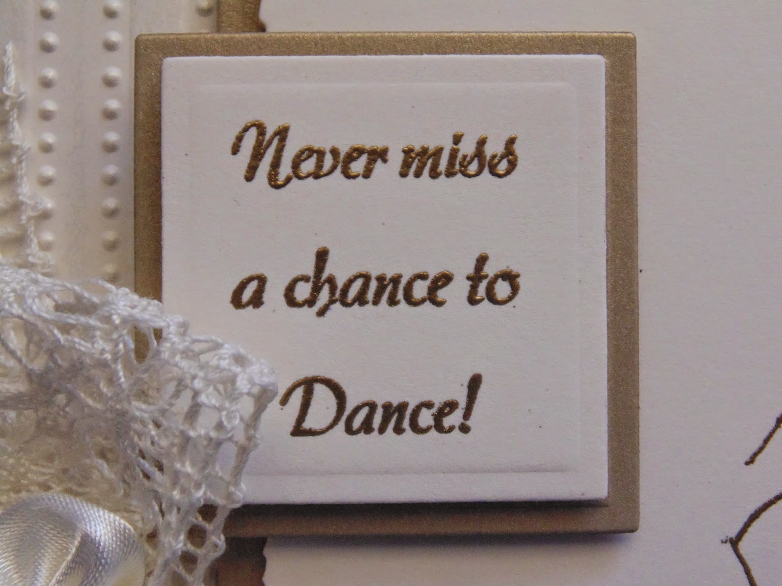 Never Miss A Chance Lo Sabes: Inky Finger Zone: Never Miss A Chance To Dance