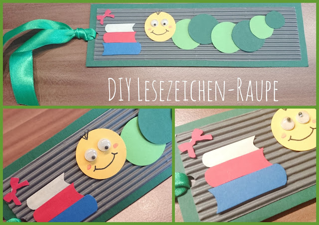 [DIY] Schulanfang-Special: Lesezeichen-Raupe