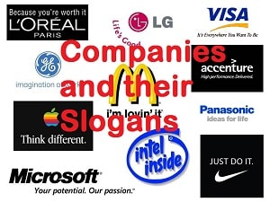 List of Multinational Companies and Their Taglines or Slogans