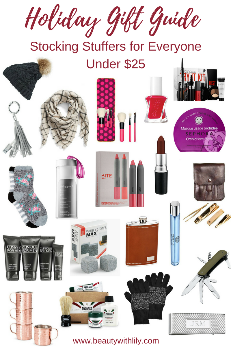 holiday gift guide affordable stocking stuffers beauty with lily